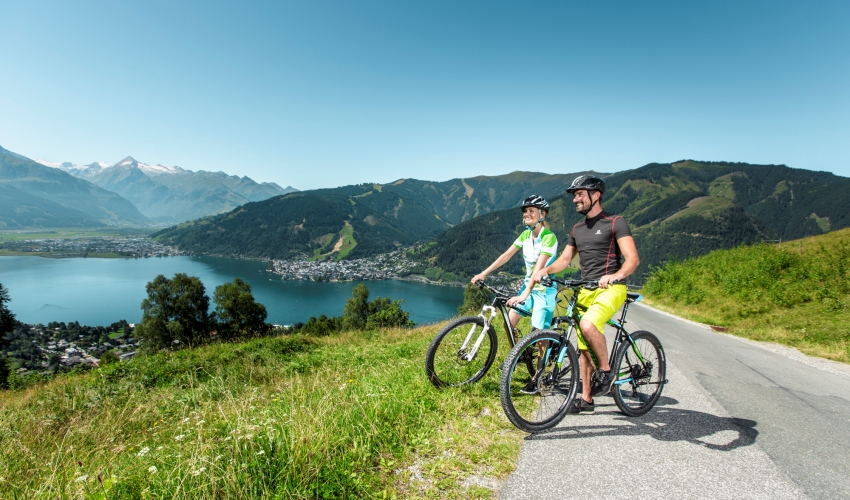 Zell am See Summer Lake Biking