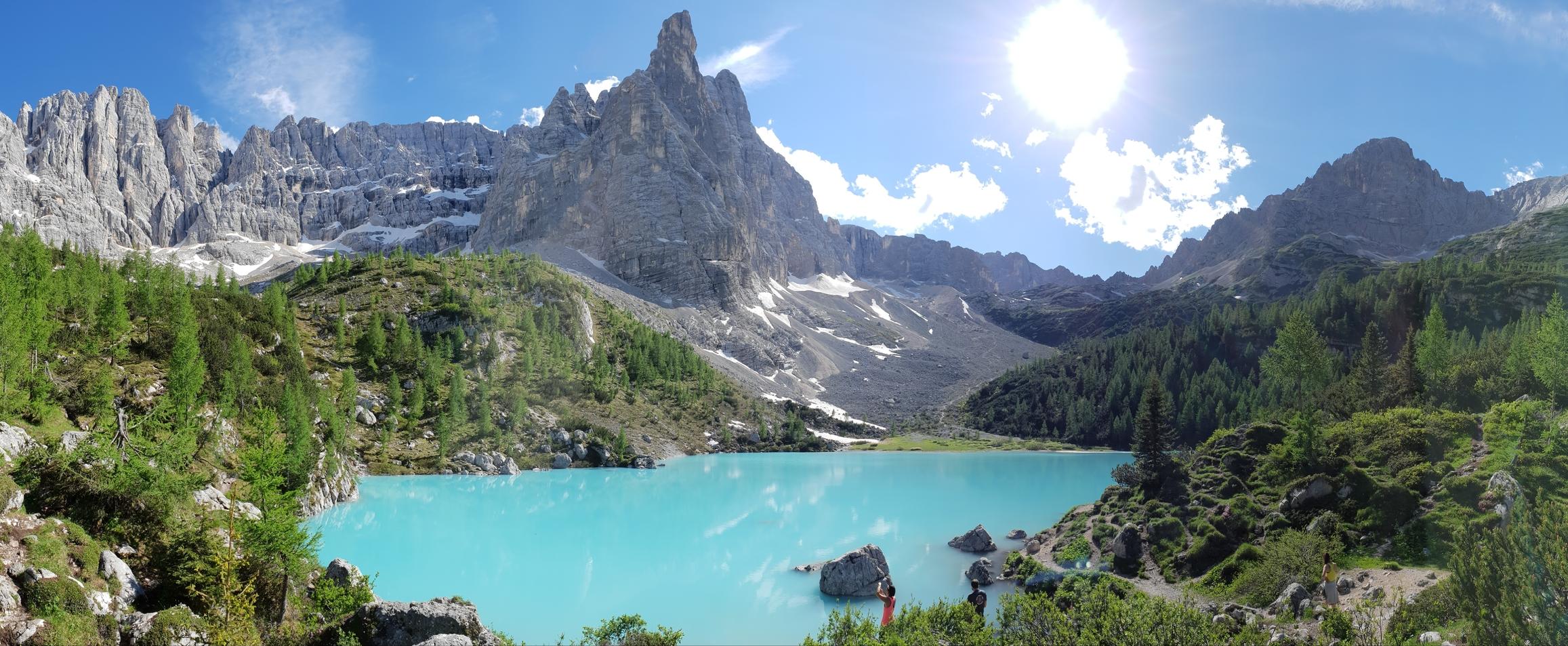 Lago di Sorapis Panorama