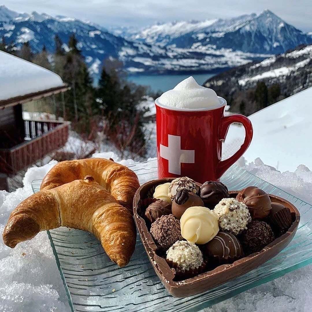 Snow Breakfast Switzerland